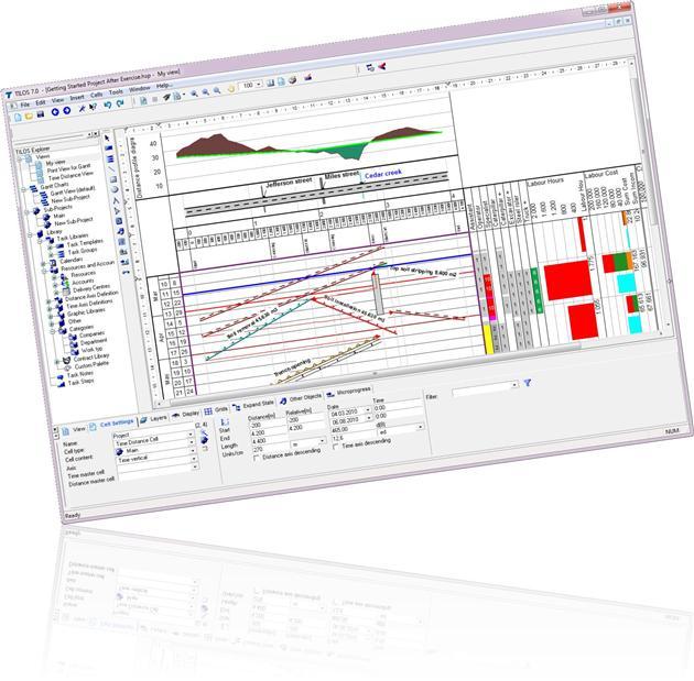 Tester TILOS logiciel planification linéaire