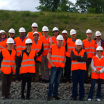 Visite du chantier de la LGV Sud Europe Atlantique - Section Lot14
