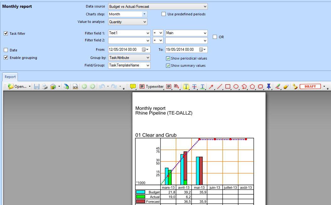 Tilos ProgressMap-ProgressAnalyse