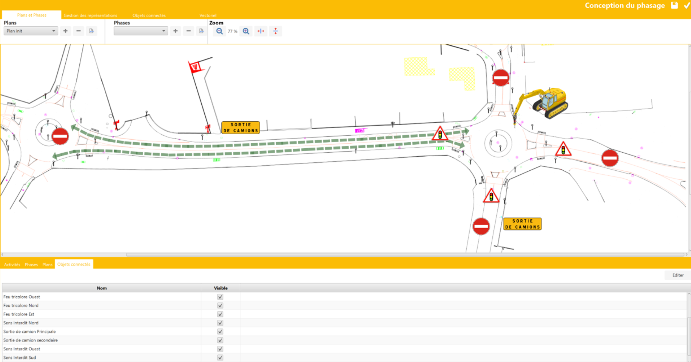 Conception Phasage sur Phase Manager