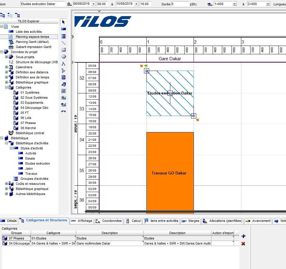 Logiciel planning travaux Tilos