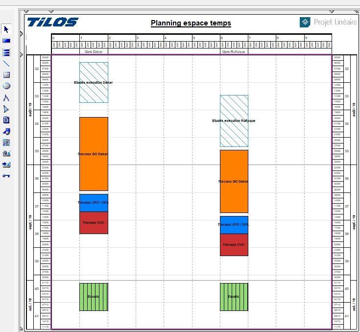 Planning espace temps Tilos